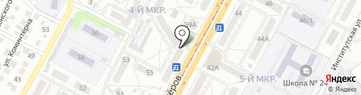 Волна К на карте Кемерово