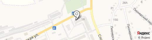 Банкомат, Сбербанк, ПАО на карте Бачатского