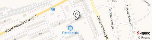 Сокол на карте Бачатского