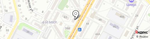 Компания буровых работ на карте Кемерово