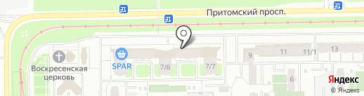 СпортZall на карте Кемерово