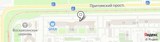 Пиво Сибири на карте Кемерово