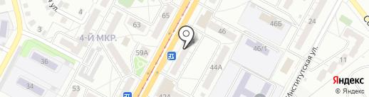 Анкер 2 на карте Кемерово