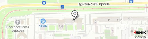 Пятёрочка на карте Кемерово