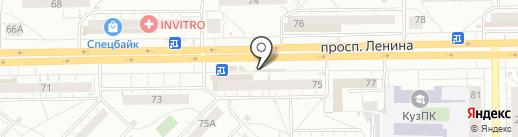 Билайн на карте Кемерово