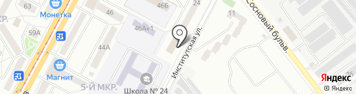 РЫЖИК на карте Кемерово