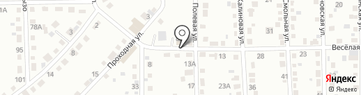 Глобус на карте Кемерово