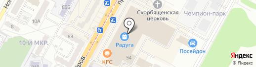 INCI на карте Кемерово