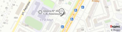 KDL на карте Кемерово