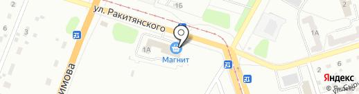 Церковная лавка на карте Кемерово