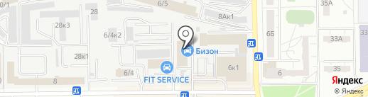 F!T SERVICE на карте Кемерово