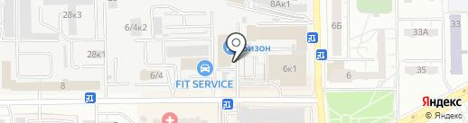 AVM на карте Кемерово