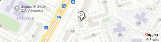 АЙА-MODULIZA на карте Кемерово