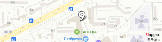 5 ЗВЕЗД на карте Кемерово
