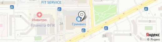 Shine на карте Кемерово