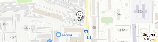 А+ на карте Кемерово