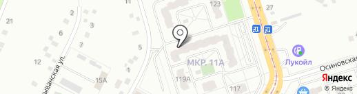 Орхидея на карте Кемерово