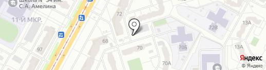 Whey42.ru на карте Кемерово