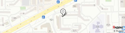 Абсолют-Центр на карте Кемерово