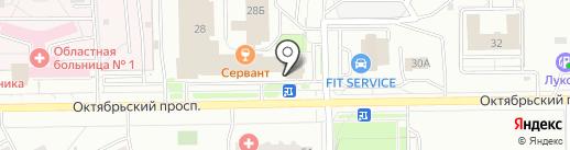 Тип-Топ Event на карте Кемерово
