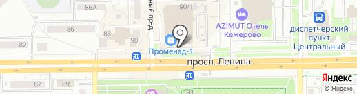 Твоя косметичка на карте Кемерово