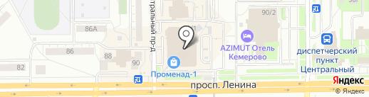 SECRET на карте Кемерово