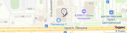 Сеть магазинов традиционных корейских салатов на карте Кемерово