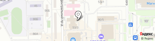Услада на карте Кемерово