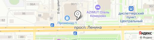 ДНС на карте Кемерово