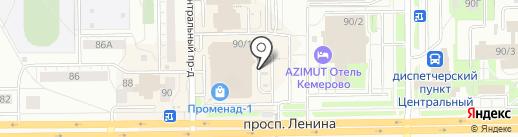Бутик по продаже картин на карте Кемерово