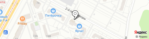 Sportime на карте Кемерово