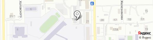Автоключ на карте Кемерово