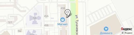 Геона на карте Кемерово