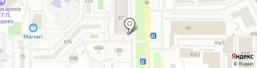 Torex на карте Кемерово