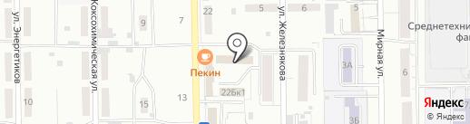 Торгово-сервисная компания на карте Кемерово