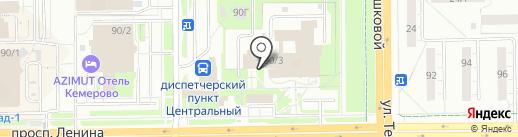 Сибирская теплосбытовая компания на карте Кемерово
