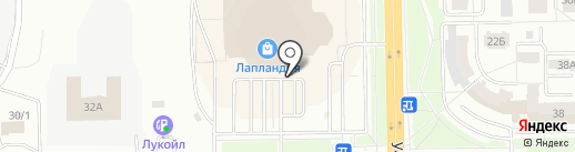 Евромода на карте Кемерово