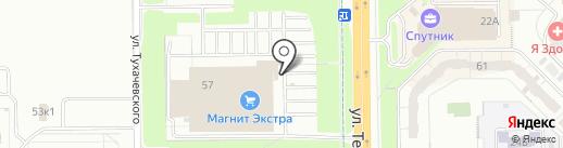 ТАПКИНО на карте Кемерово