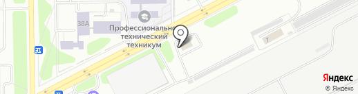 Аква Рум на карте Кемерово