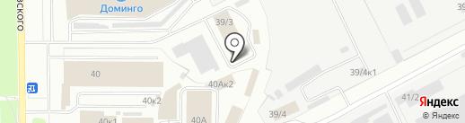КАНЦОПТ на карте Кемерово