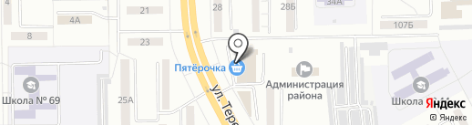 Госэнерготариф на карте Кемерово