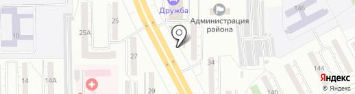 Пассаж на карте Кемерово