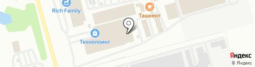 Марсо на карте Кемерово