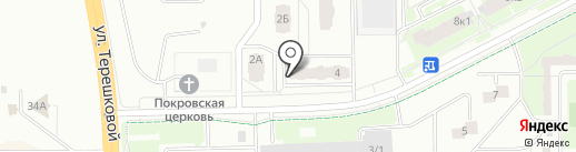 Програнд на карте Кемерово