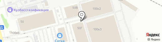 Равис-птицефабрика Сосновская на карте Кемерово