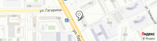 Ярче на карте Кемерово
