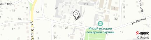 Мировые судьи Ленинск-Кузнецкого района на карте Ленинска-Кузнецкого