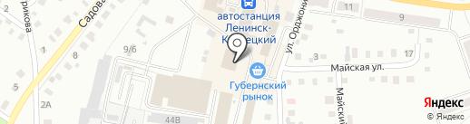 Керн на карте Ленинска-Кузнецкого