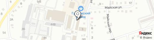 Торговая компания на карте Ленинска-Кузнецкого