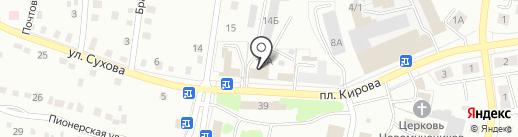 Производственная компания на карте Ленинска-Кузнецкого